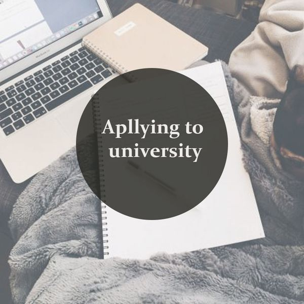 Apllying to University
